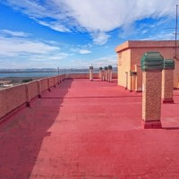 taras - solarium na dachu